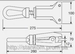 Self-locking clip with fast fixing by means of the
