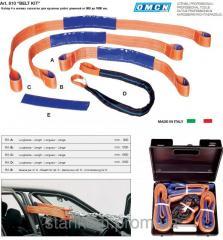 Set of soft captures of belts - NP,14 slings for
