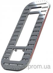 Стапель кузовов SIVER E 210 платформенного типа с