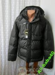 Куртка мужская зимняя капюшон синтепон бренд