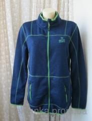 Кофта женская теплая спортивная синяя бренд Crivit