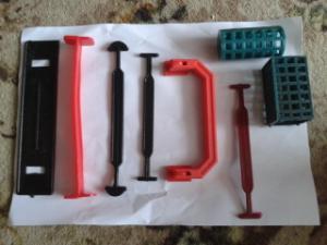 Plastic handles in assortmen