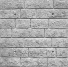 Polyfacade Chipped stone of 7 rows