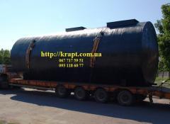 Резервуар для хранения нефтепродуктов (ГСМ),...