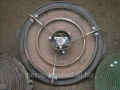 Manholes with the lock