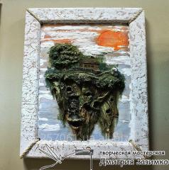 Барельефная (рельефная) картина