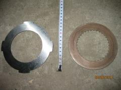 Friction plates on the Mill road DEM-121/DEM-121 /
