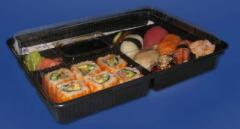 Packing for sushi and semi-finished products