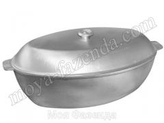 Poultry roaster with a cover Ukraine (R-122 code)