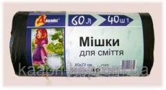 Garbage packages 60l