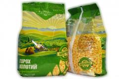 Grain Bines Peas