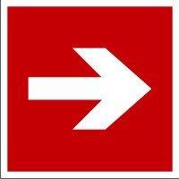 Знак Направление к месту расположения оборудования