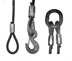 Стропы из стальных канатов (канатные стропы)