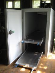 Refrigerator of storage of deceased
