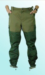 Trousers of a military, suit hill of Guerrillas