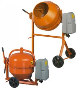 Concrete mixer of Altrad Liv MLZ 145 NG Delivery