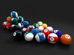Billiard pockets, spheres and other billiard