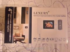 Домофон Luxury V 4 дюймовый