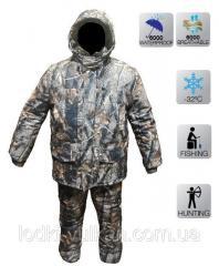 Зимний камуфлированный костюм дуб