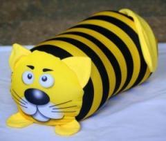 Антистрессовая игрушка валик   Кот полосатый