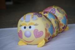 Антистрессовая игрушка валик   Гусеница   большая