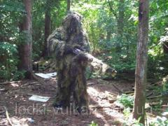 Clothes camouflage for hunting the Bog