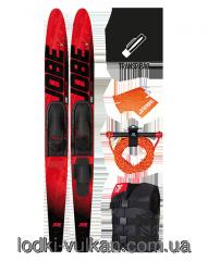 Set water-skiing Jobe Allegre Red Pack 59