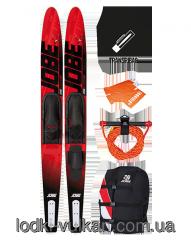 Set water-skiing Jobe Allegre Ski Red Pack 67