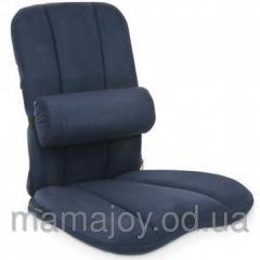 Валик льняной ортопедический на офисное кресло