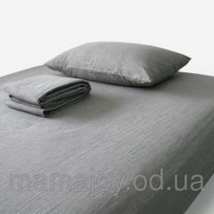 Комплект постельного белья из небеленого льна