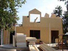 Комплект каркаса канадского дома. Панельное домостроение. Дома каркасные деревянные