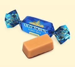 Конфеты неглазированные весовые Old Town молоко