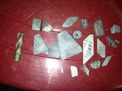 Пластины напайные ВК-8, Т5К10, Т15К6