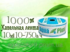 Drop tape Aqua Plus10mil-10-750, 1000 m
