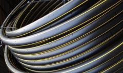 Трубы ПЭ-80 для газопровода от производителя