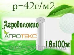 Агроволокно 42 UV белый, 1,6х100м, Агротекс