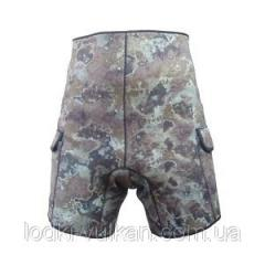 Shorts grammeen with pockets under load of 3 mm