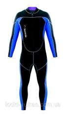 Diving suit of Mares TritOne 2012 of the river,