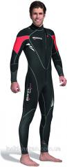 Diving suit size 5, man's for spearfishing of