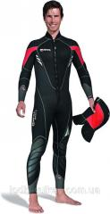 Diving suit size 6, man's for swimming of