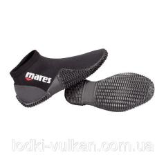 Boats for flippers with an open heel of Mares