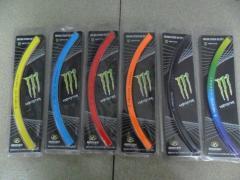 """Полосы на диски 17"""" Monster в ассортименте"""