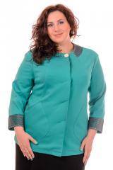 Jacket female of jersey No. 1