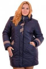 Female outerwear of M-1519 Blue