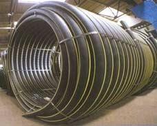 Трубы полиэтиленовые для транспортировки газа по