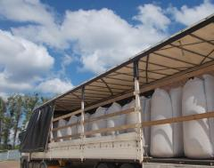 Древесные топливные гранулы ( упаковка БигБег)