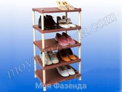 Открытая полка для хранения обуви Украина (код