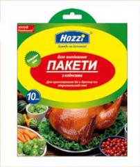 PACKAGES for roasting of Hozzi