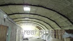 Внутренняя гидроизоляция стен и перекрытий