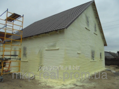 Наружная теплоизоляция стен и перекрытий